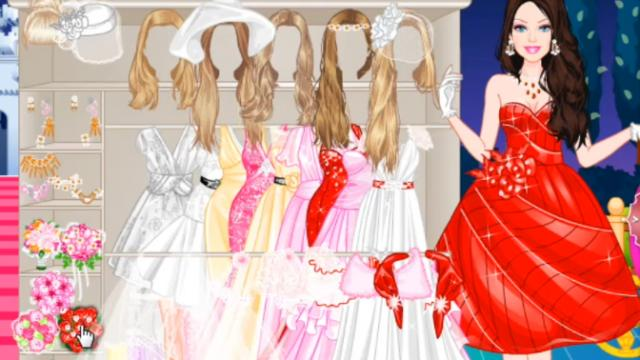 New cool wedding dresses: Bridal party dress up games online