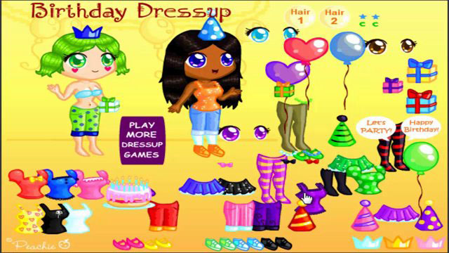 Birthday Party Dressup