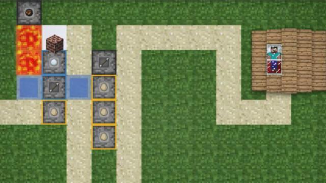 Minecraft Tower Defense Kostenlos Online Spielen Ohne Anmeldung - Minecraft zombie spiele kostenlos