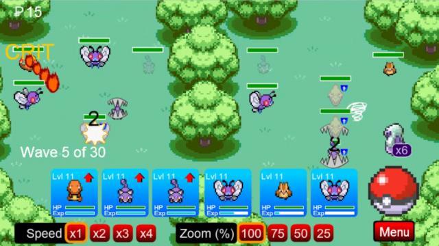 pokemon tower defense 4