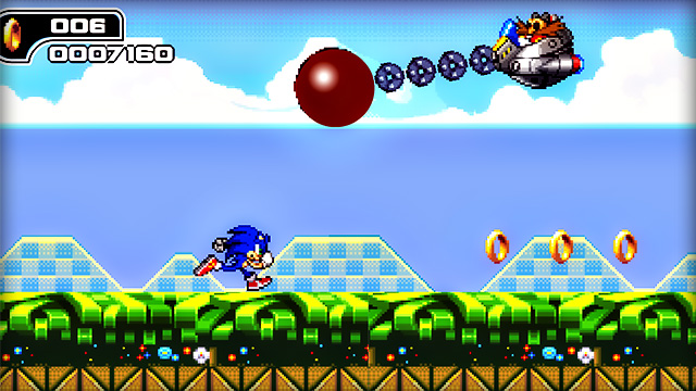 flash sonic games